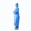 Blue Isolation Insulation Non Woven Protective Medical Impervious Disposable Surgery Gown with Ties