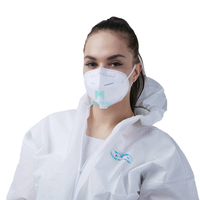 Breathing High Quality Vertical Fold Respirator