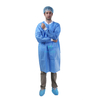 White Laboratory Anti Static Chemistry Protective Disposable Lab Coat