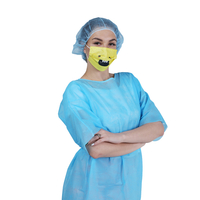 Short Sleeves Isolation Gown