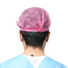 Wholesale Pleated Non Woven Single Elastic Disposable Mob Cap