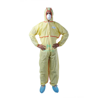 Safety Work Wear Anti Static Dustproof Panting Spraying Full Body for Industry Food Isolation Disposable Clothing