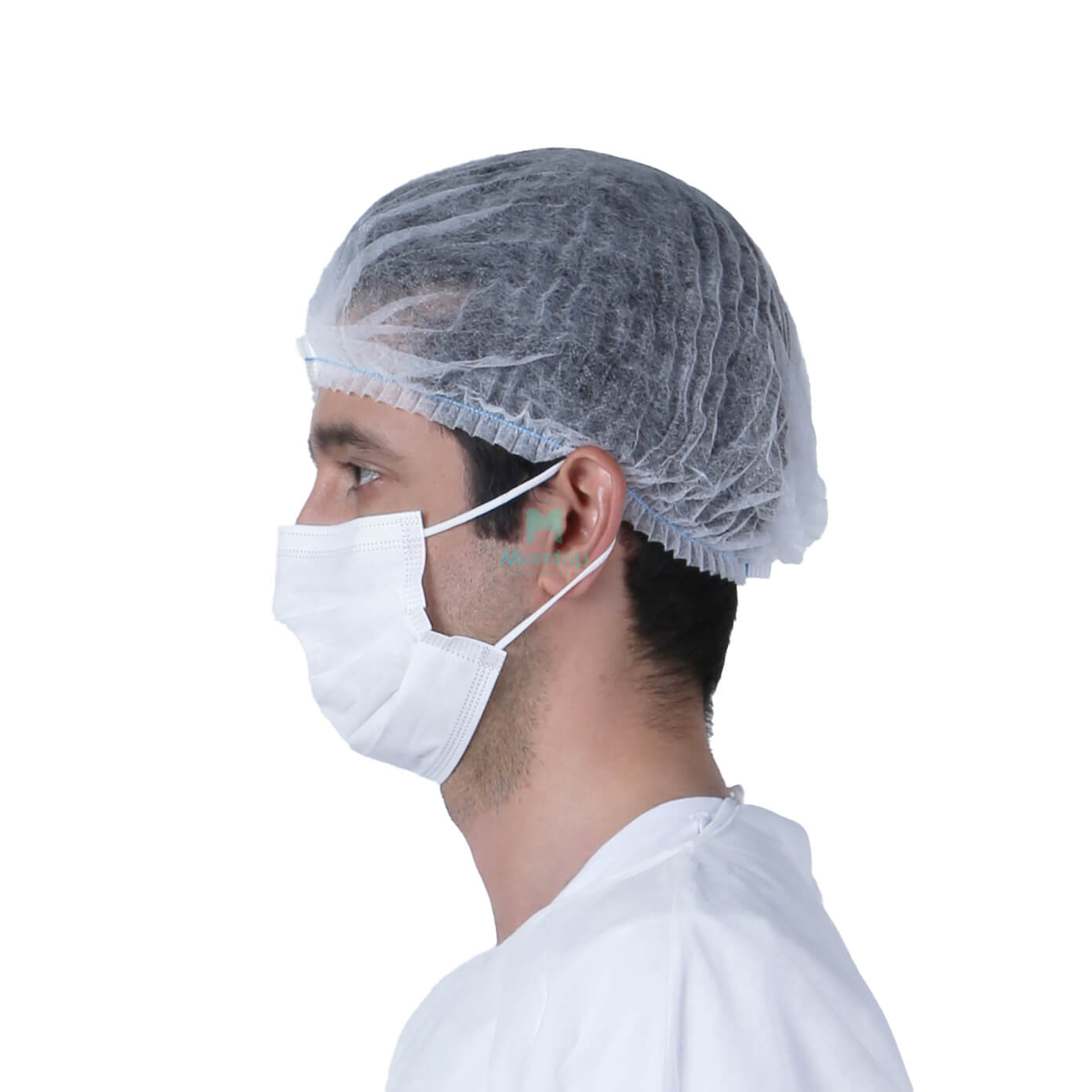 Wholesale PP Lab Non Woven Disposable Mob Cap
