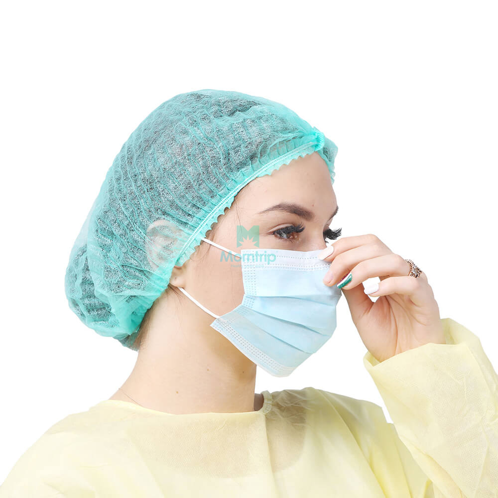 Blue Wholesale Adult Earloop Dental Surgical Face Mask