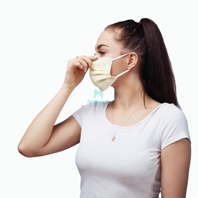 Morntrip Anti Bacterial Safety Protective Hypoallergenic Disposable Face Mask