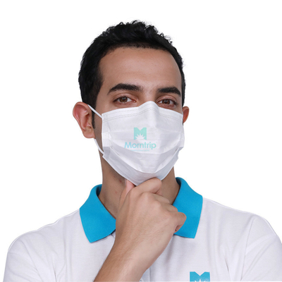3 Ply Non Woven Protective Hypoallergenic Medical Dispsoable Face Mask