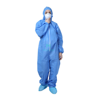 Non Woven Chemical Disposable Protective Chemical Protective Coverall