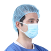 Pleated Lightweight Head Cap Non Woven Disposable Bouffant Cap