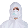 Microporous Hooded Anti Static Breathable Custom Sterile Waterproof A Disposable Clothing Suit