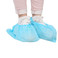 Disposable Waterproof PE CPE SMS Plastic Shoe Cover for Laboratory