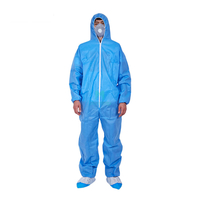 PP Non Woven Material Fully Body Breathable Protective Disposable Coverall