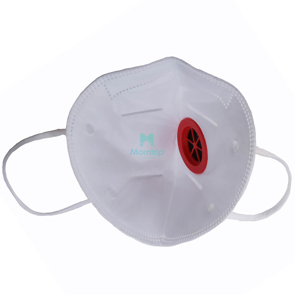 FFP2 Level Particulate Proof Vertical Fold Respirator with valve