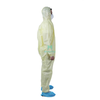 CE Approved Hypoallergenic Safety Pesticide Non Woven Disposable Coverall